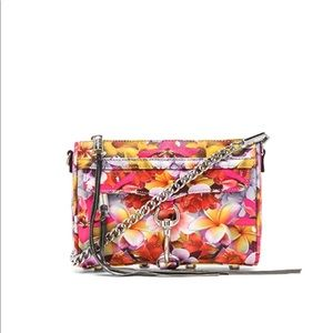 Rebecca Minkoff Clutch Crossbody Bag Floral Print